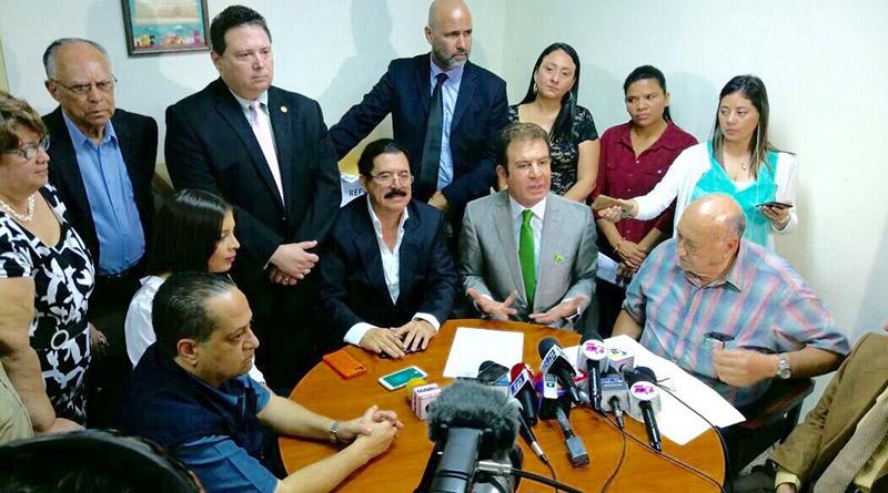 Demagogia?: Alianza de oposicion  y Convergencia contra el continuismo piden anular inscripción de JOH Conver10