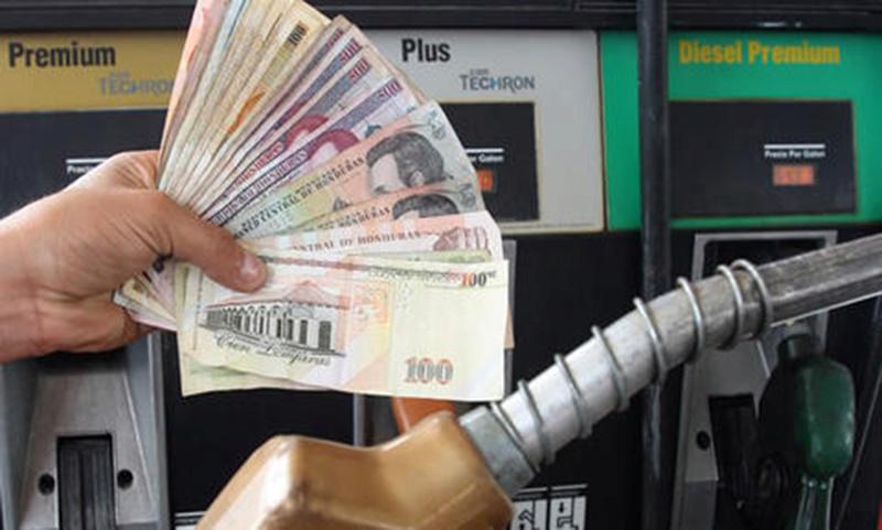 Combustibles indetenibles en alza de precios Gasoli10