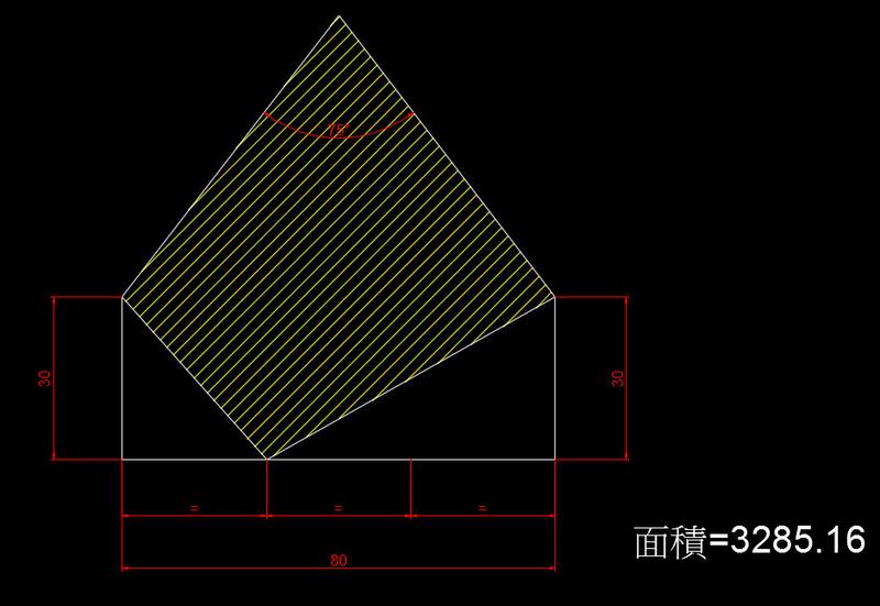 AutoCAD教學 幾何圖形習題06 610