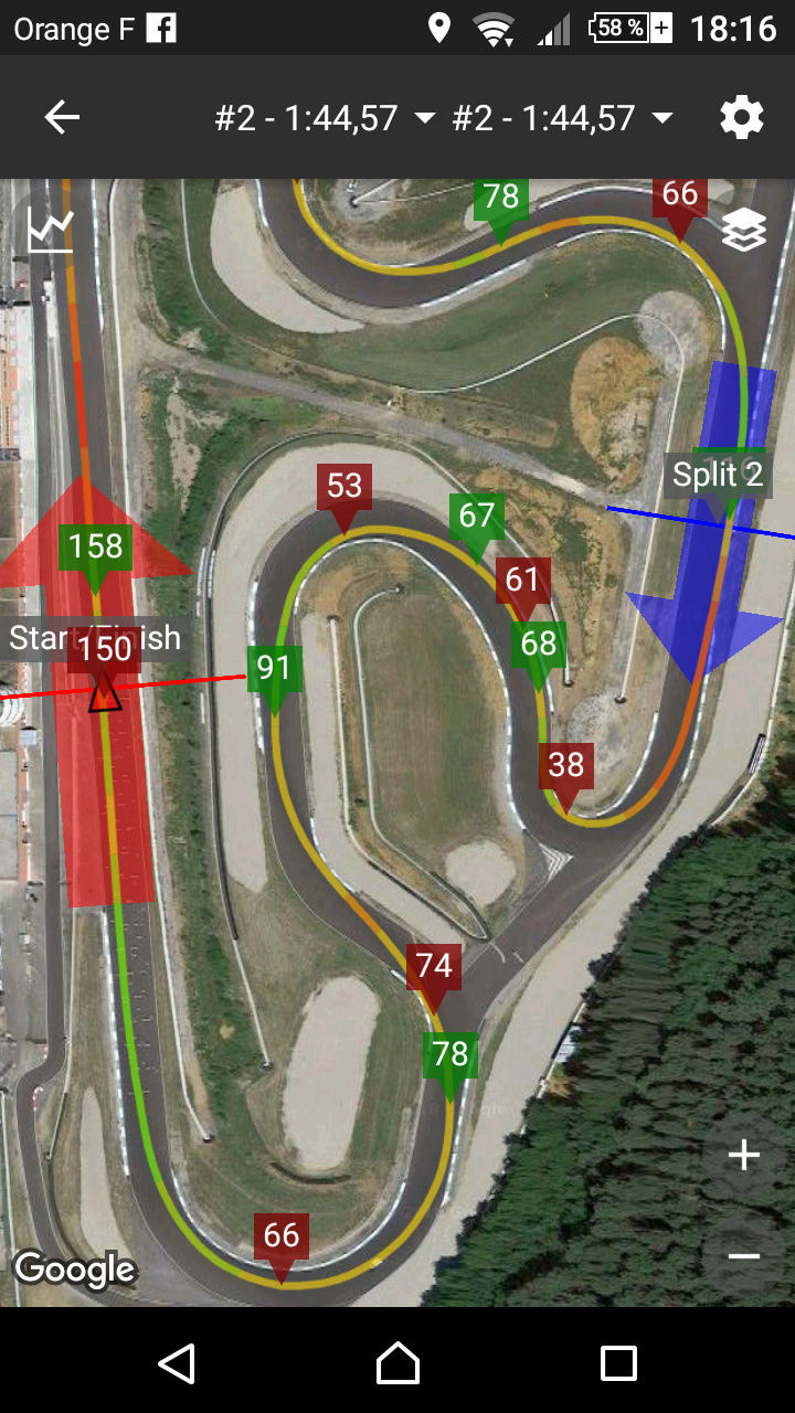 Récepteur GPS pour RaceChrono Screen12