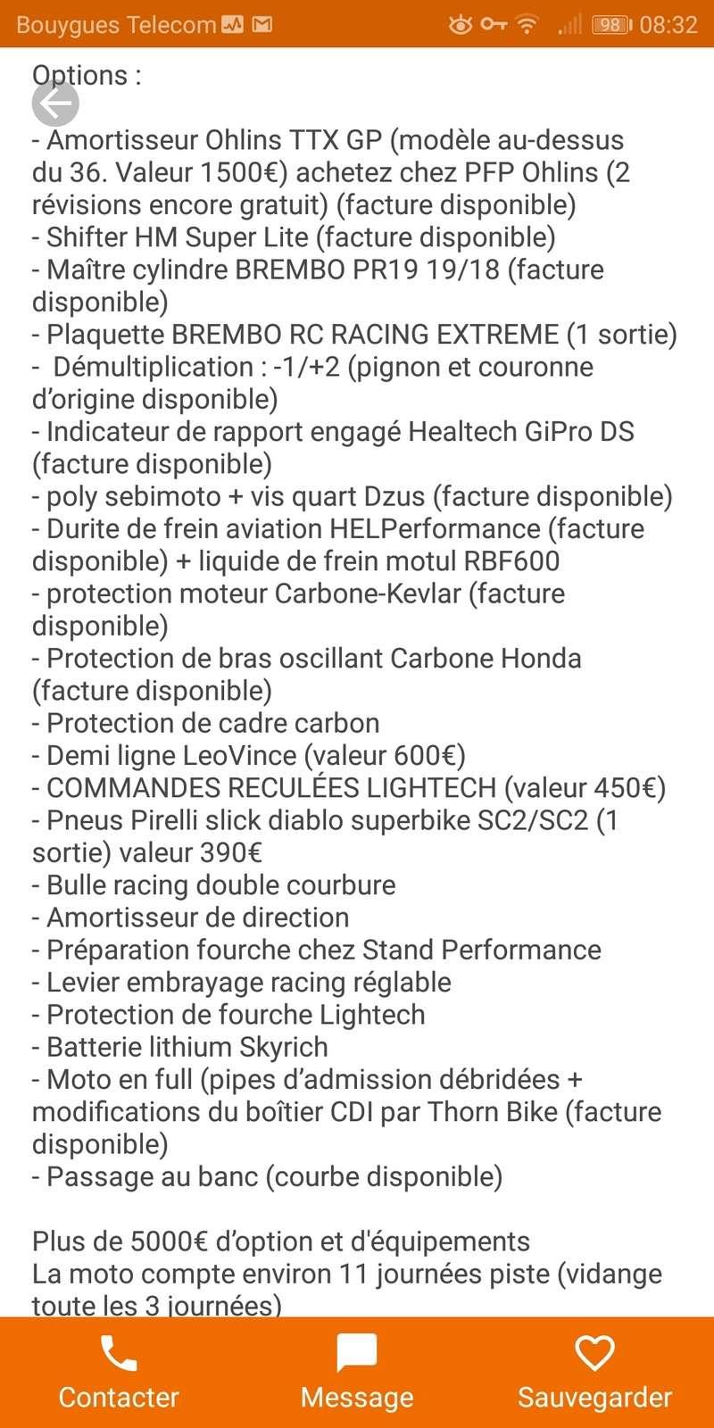 Les Annonces de Pistardes sélectionnées par Motopiste Screen15