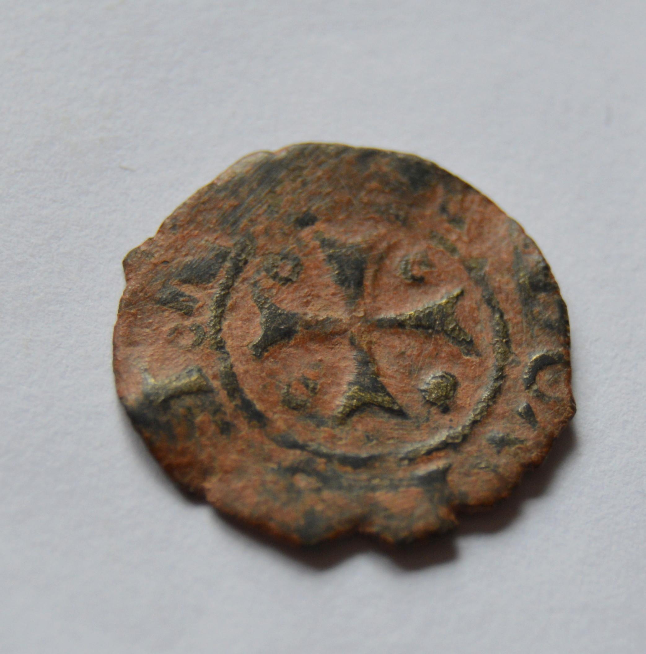 Cornado de Carlos IV de Navarra.  Mo9a10