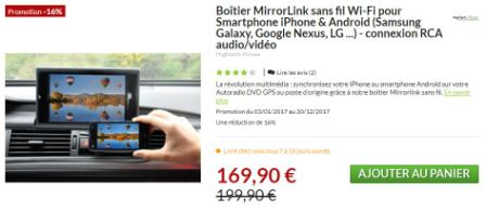 PCM3.1, caméra et Mirrorlink : témoignage et questions B10