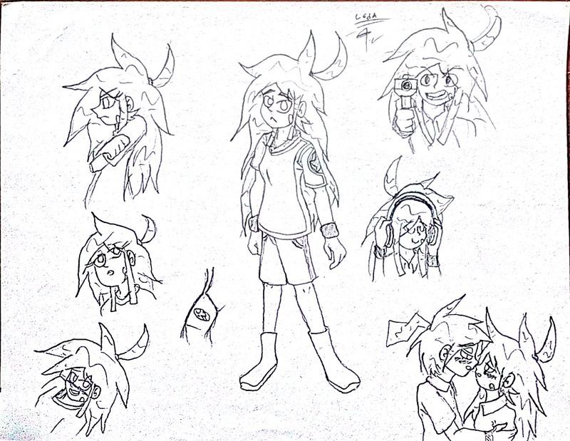 Mis dibujos a lapíz HB :D - Página 12 Leda10