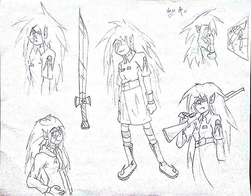 Mis dibujos a lapíz HB :D - Página 12 Vala_c10