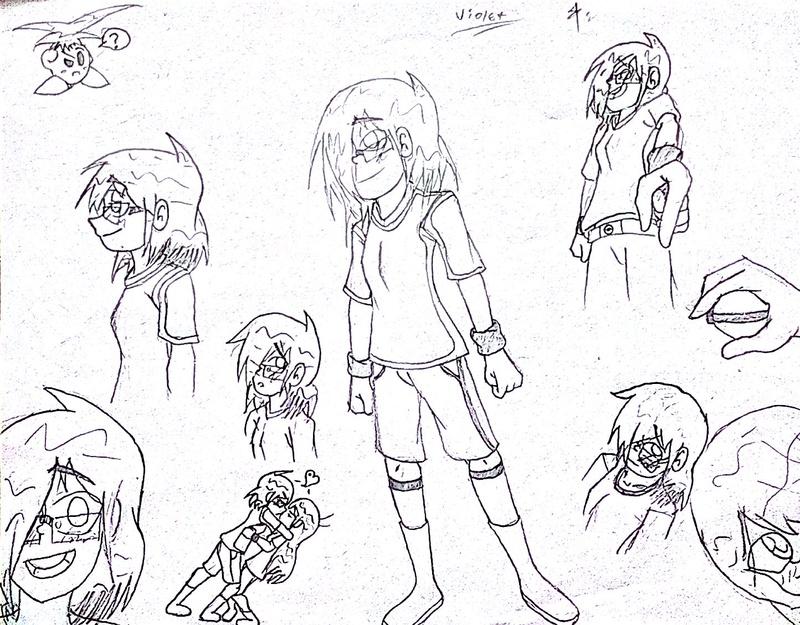 Mis dibujos a lapíz HB :D - Página 12 Violet11