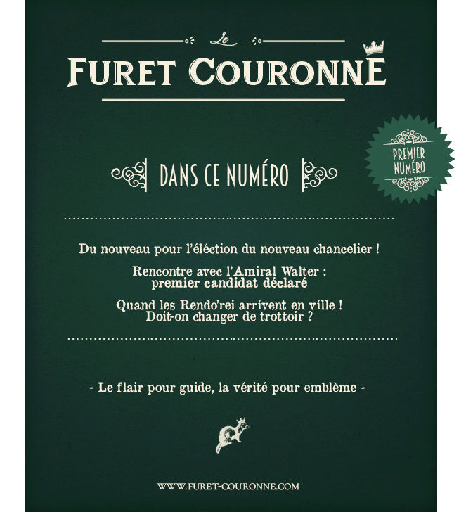 [Journal local] - Le Furet Couronné Pub110
