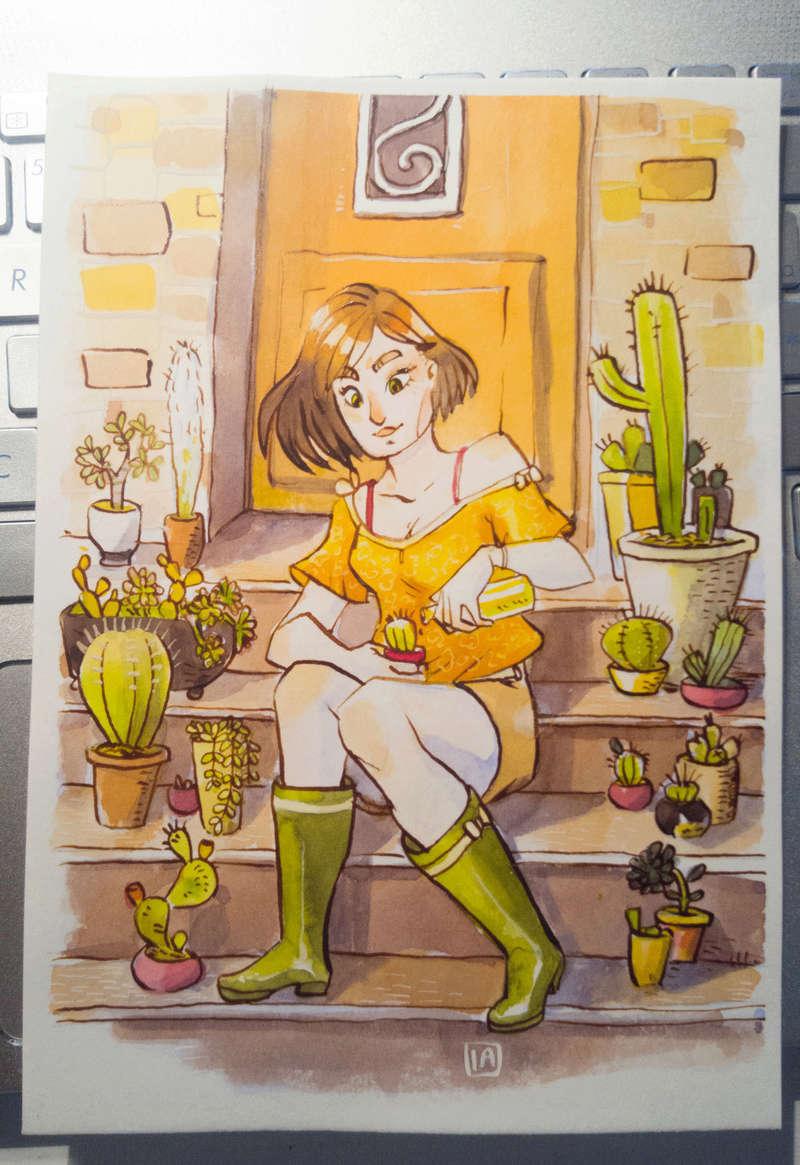 Sketchbook : IsaArne [ Challenge de l'ete P7 ] - Page 4 Facecr26