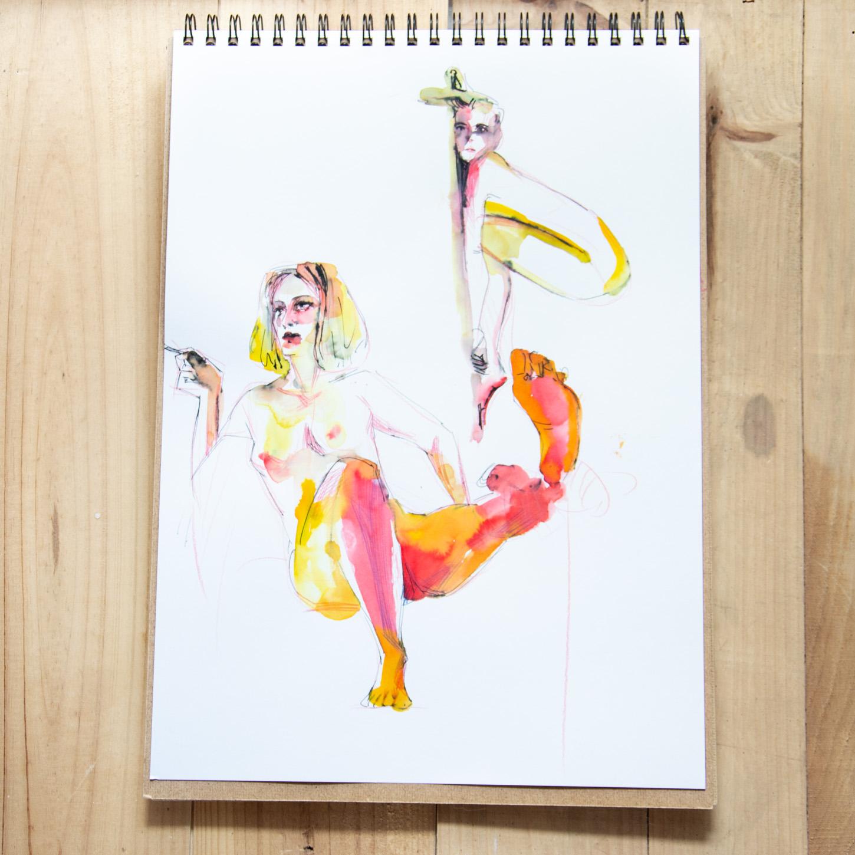Sketchbook : IsaArne [ Challenge de l'ete P7 ] - Page 5 Facecr27