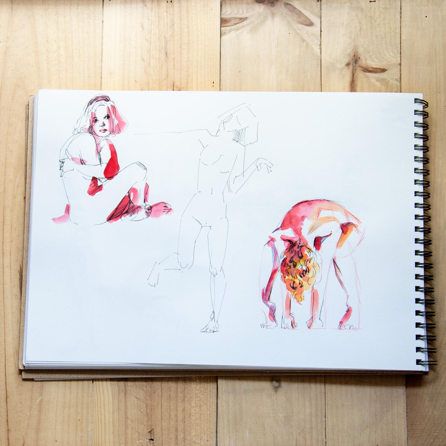 Sketchbook : IsaArne [ Challenge de l'ete P7 ] - Page 5 Facecr32