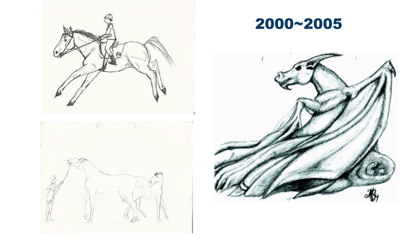 [inspi] Timeline - vos vieux dessins - Page 4 Throwb10