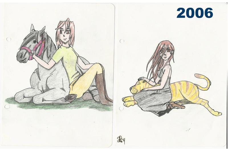 [inspi] Timeline - vos vieux dessins - Page 4 Throwb12