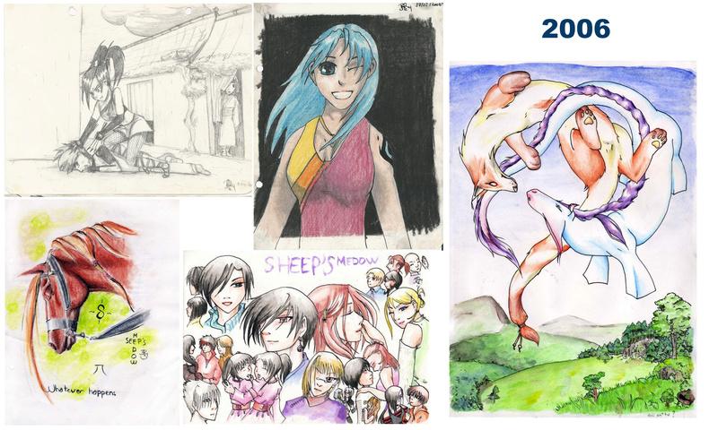 [inspi] Timeline - vos vieux dessins - Page 4 Throwb13