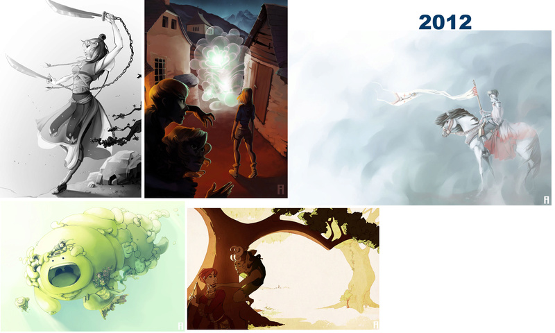 [inspi] Timeline - vos vieux dessins - Page 4 Throwb19