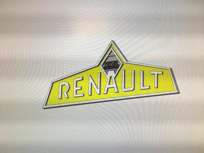 Reproduction de logo Régie Nationale Renault  6cdf0510