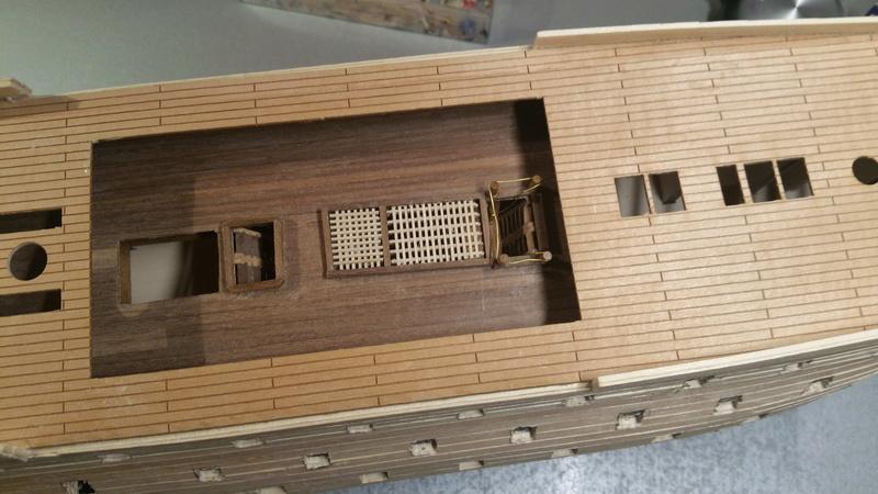 Baubericht HMS Victory 1:98 von Mantua von WolfgangEW 20181114