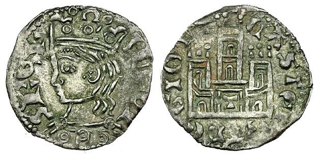 Cornado de Alfonso XI de Castilla 1312-1350 Toledo. Cornad10