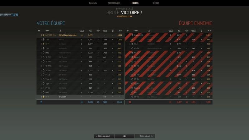 Bon c'était en IA, PVP T3 9972 dmg LAV 150 11 kill ! Brennus ?... Screen21