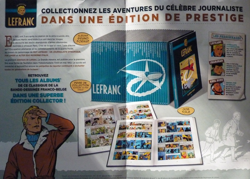 Collection Lefranc chez Hachette 0110