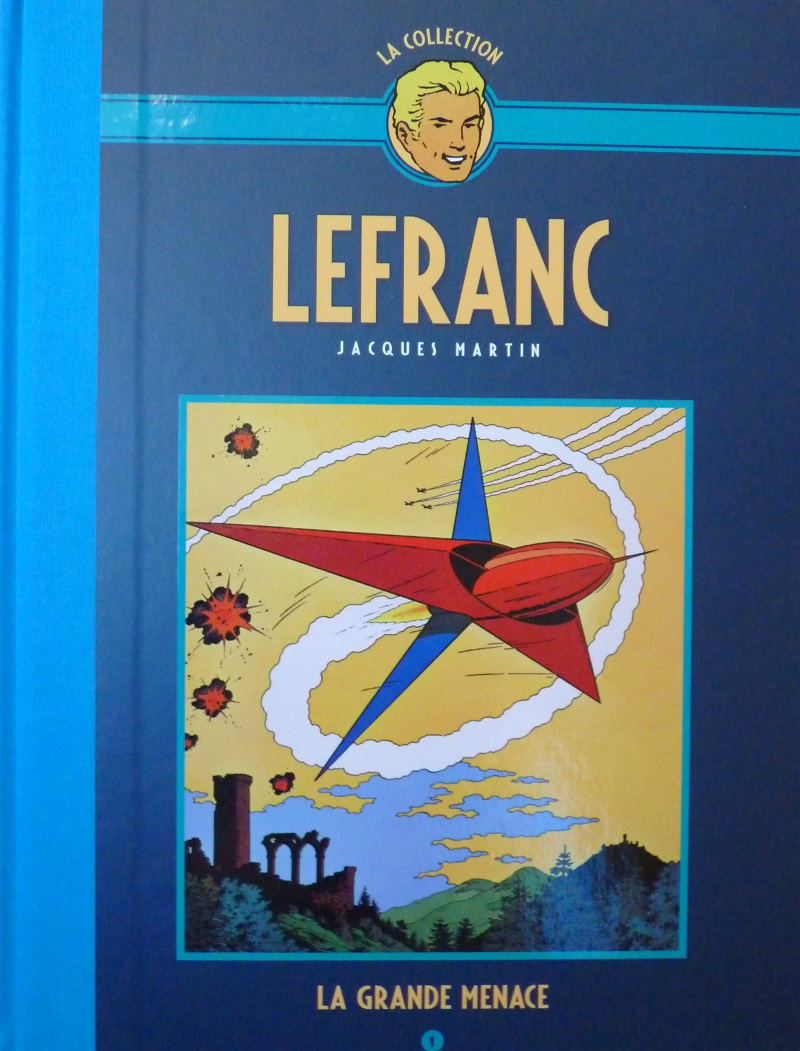 Collection Lefranc chez Hachette 0410