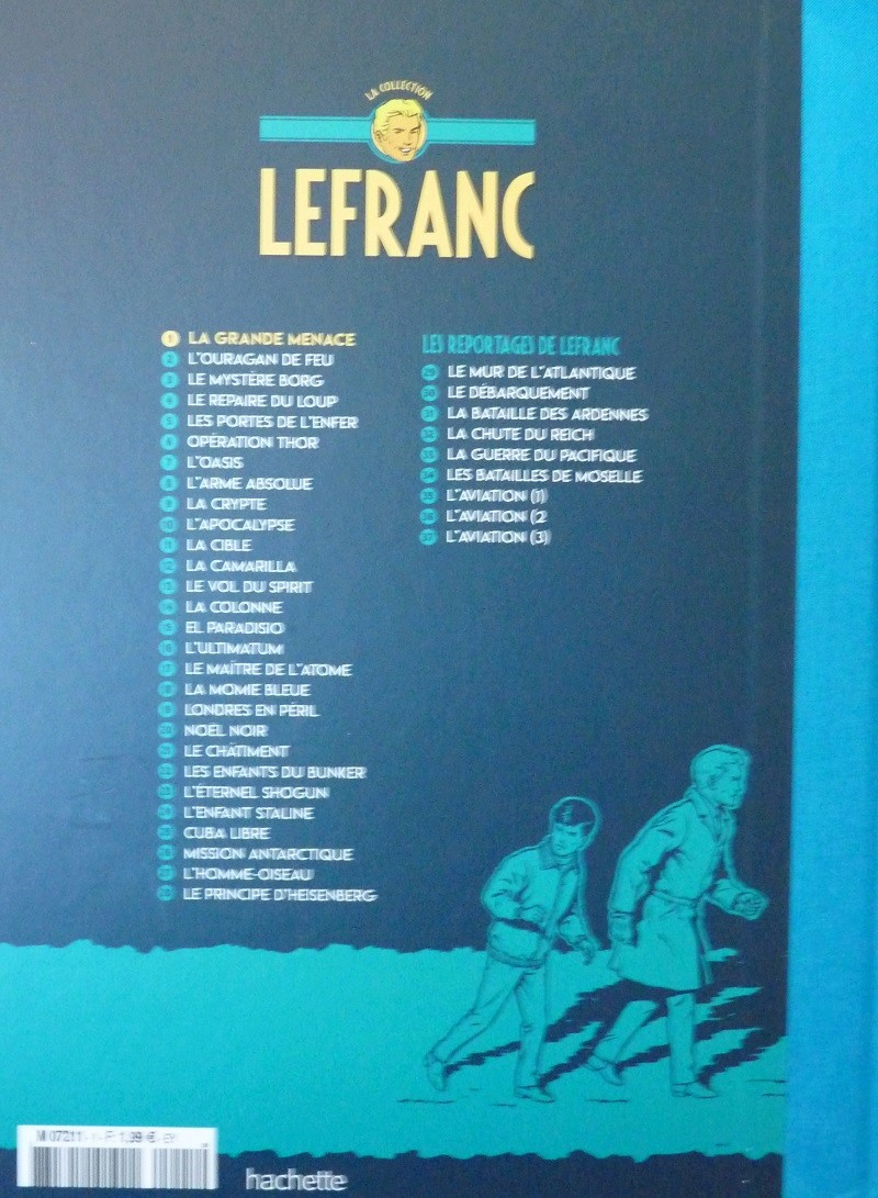 Collection Lefranc chez Hachette 0510