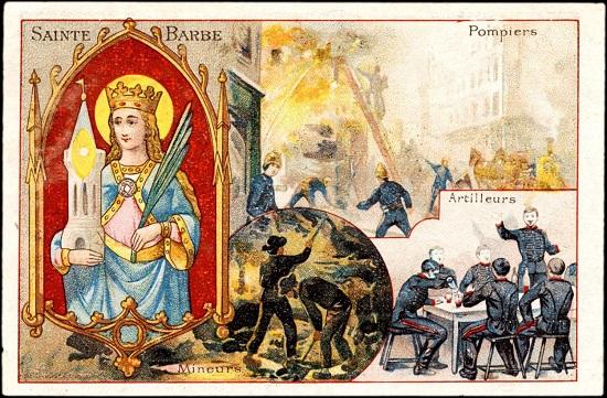 Sainte Barbe - Fête des pompiers. 00000116