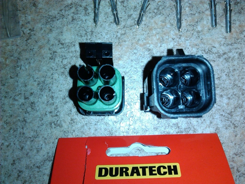 Duratech waterproof fuel pump 4 pin connector replacement.  Durate14