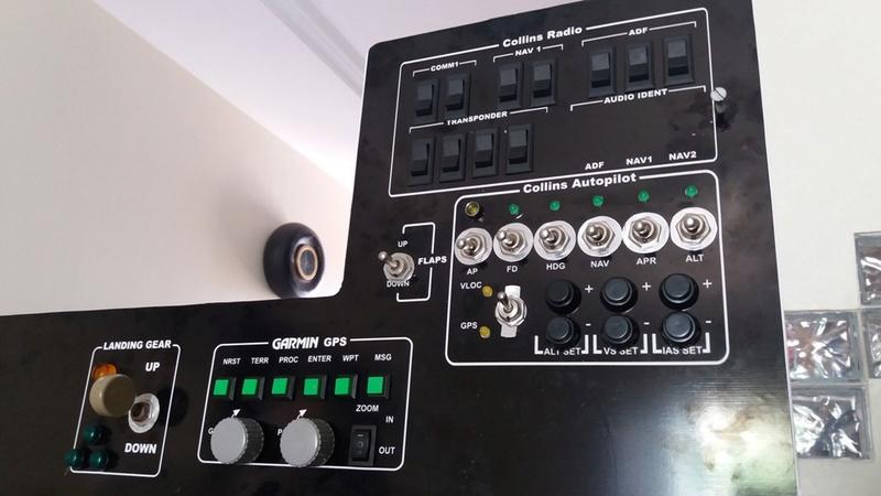 Cockpit genérico para bimotores 20180510