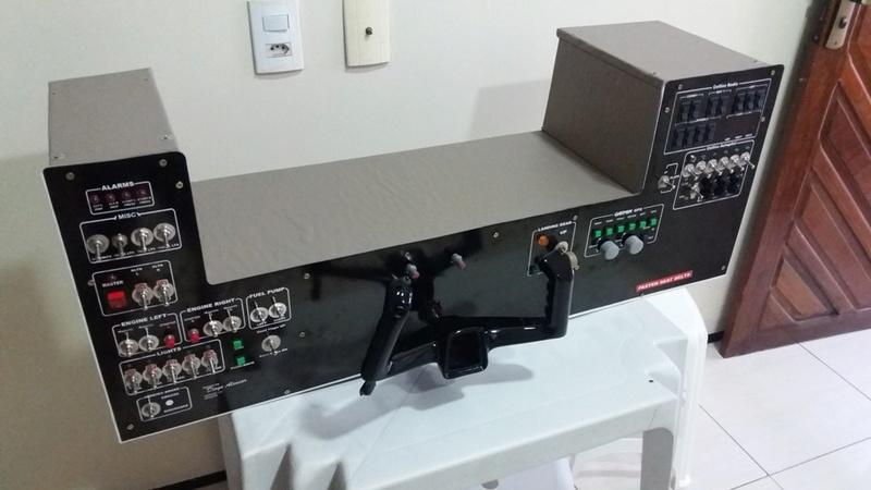 Cockpit genérico para bimotores 20180512