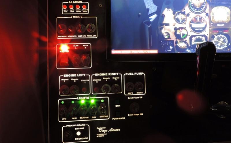 Cockpit genérico para bimotores Dscn6810