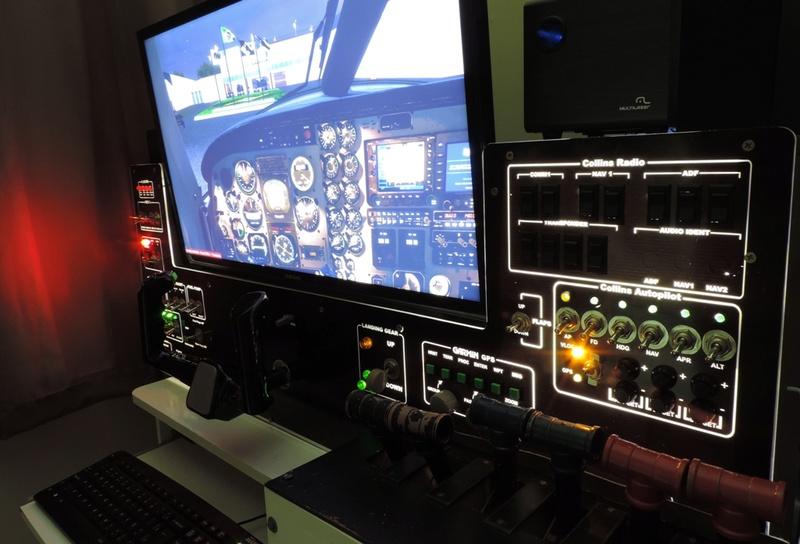 Cockpit genérico para bimotores Dscn6812