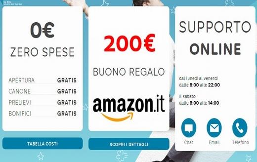 HELLO BANK regala BUONO AMAZON € 200 con codice presentatore III EDIZIONE [promozione scaduta il il 30/04/2019] - Pagina 4 Hellob10