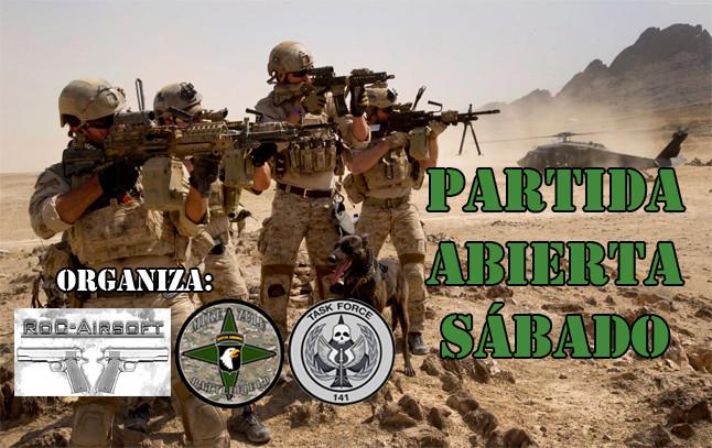 ** CANCELADA ** - Partida Abierta - Sábado 28/10/17 - Mike Zulu Battlefield Partid15