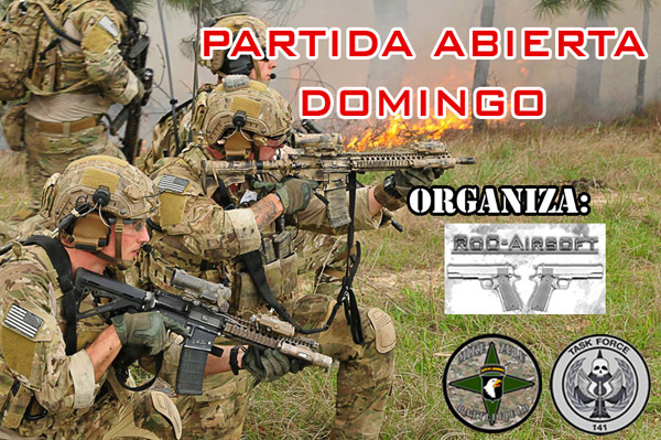 ** CANCELADA** - Partida Abierta - Domingo 05/11/17 - Mike Zulu Battlefield Partid16