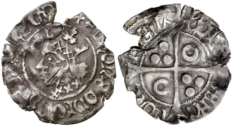 Croat. Alfonso V de Aragón (1416-1458). Perpinyà. BC+. INÉDITA  Croat_10