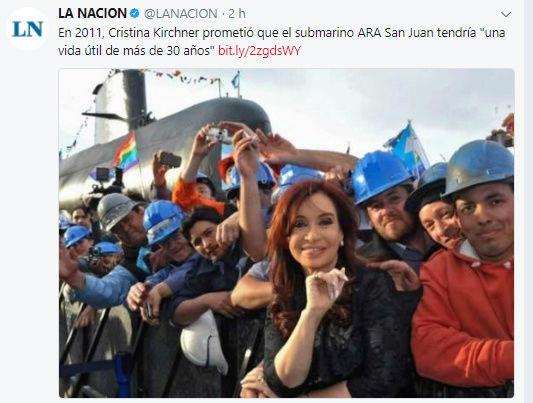 La Armada argentina confirma que hubo una explosión en la zona donde desapareció el submarino Captur22