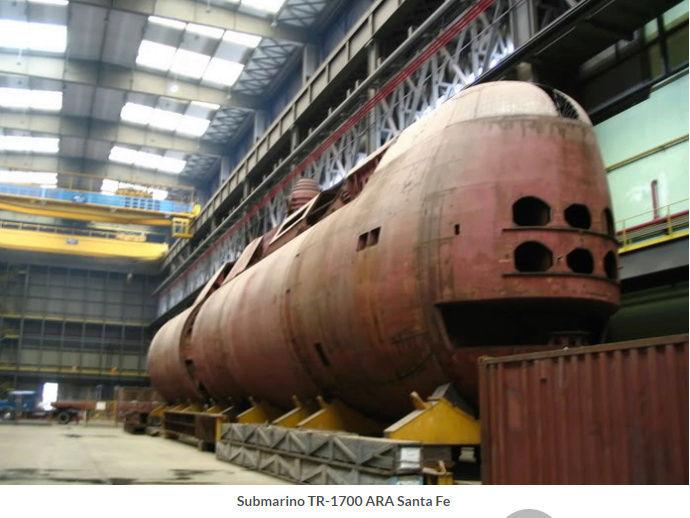 La Armada argentina confirma que hubo una explosión en la zona donde desapareció el submarino Captur23