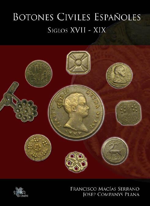 LIBRO BOTONES CIVILES ESPAÑOLES S-XVII - XIX Portad10