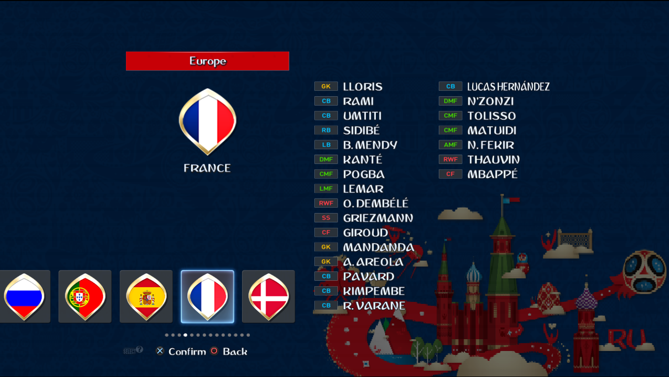 Patch Road To Russia 2018 (All National Teams) Pes20115