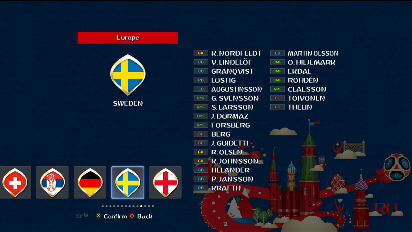 Patch Road To Russia 2018 (All National Teams) Pes20117