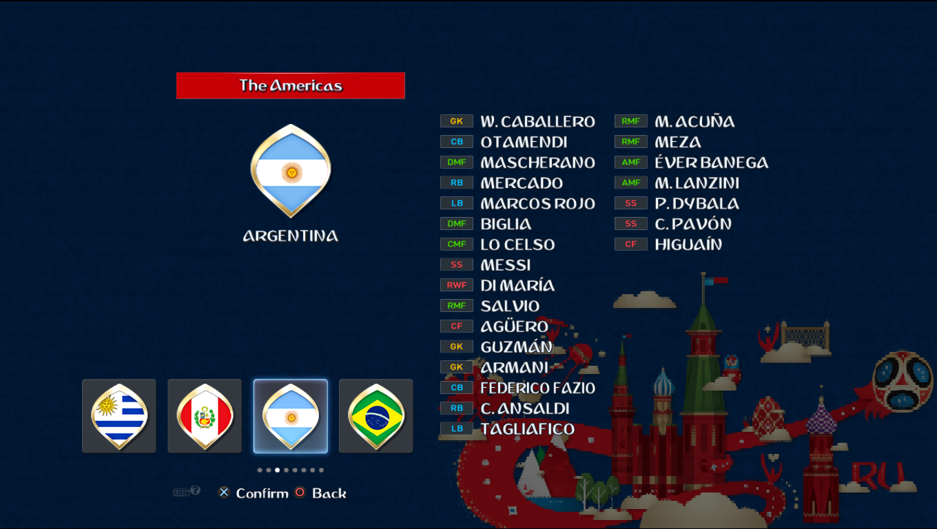 Patch Road To Russia 2018 (All National Teams) Pes20119