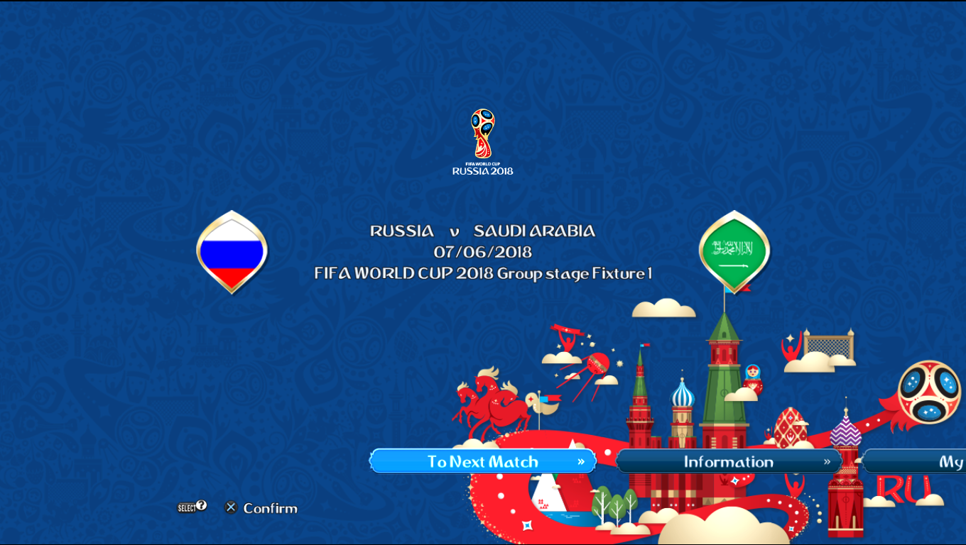 Patch Road To Russia 2018 (All National Teams) Pes20124