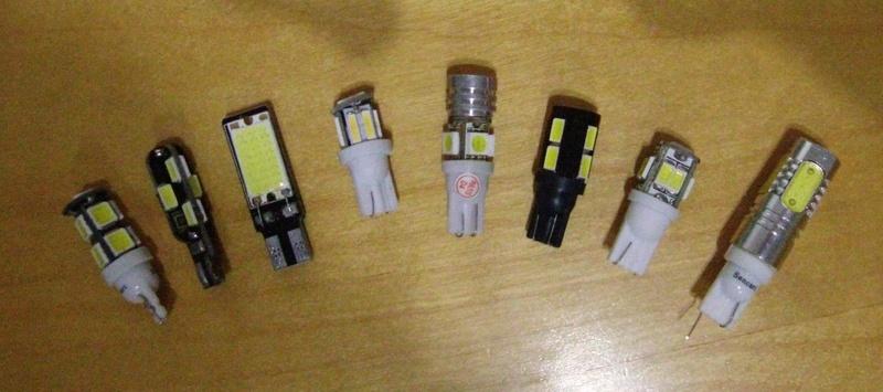 Ampoules veilleuses à Leds Led_ve10
