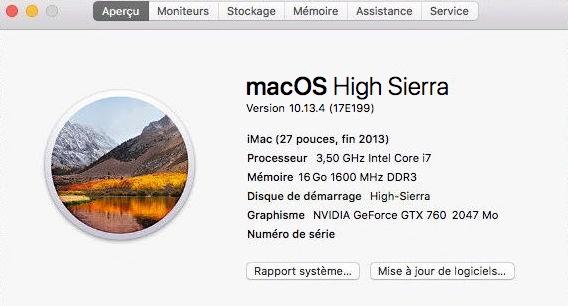 Mise a jour macOS High Sierra 10.13.4  Sans_t12