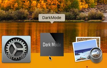 DarkMode pour macOS High Sierra Sans_t12