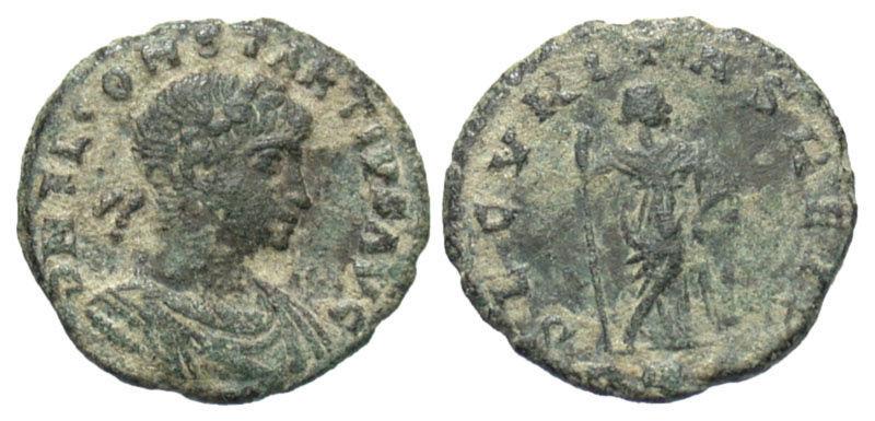 AE4 de Constancio II. SECVRITAS REIP. Roma Secvri10