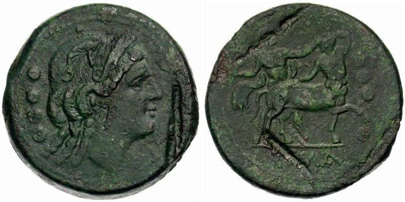 Cabeza femenina a derecha y centauro  ?  . Untitl10