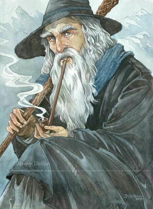 Gandalf et ses pipes Ad630710