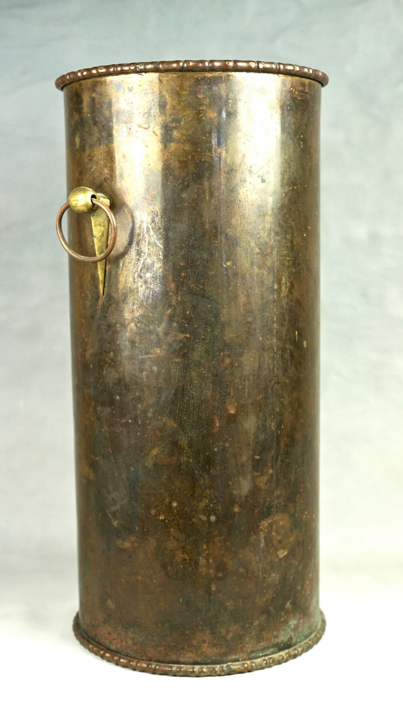 Brass Umbrella Or Walking Stick Holder Arts And Crafts