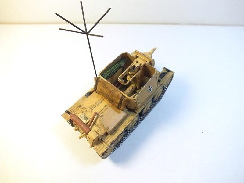 Разведывательный танк Sd.Kfz.140/1-75 на базе Pz.38 (t) R1211